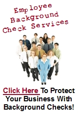 Employee Background Check Services