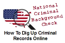 national criminal background checks through